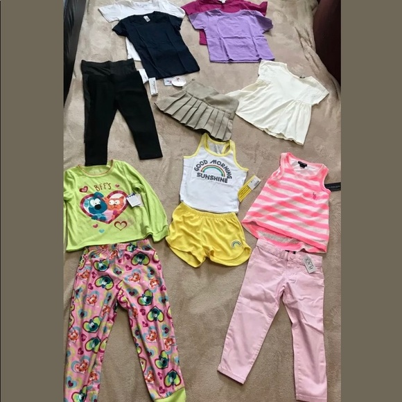 8d975bec06d14 Lot of 14 Girls Size XS (4) Clothing NWT Boutique